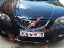 Cần bán lại xe Mazda 3 1.6AT đời 2004, màu đen đã đi 82.000 km, 340tr