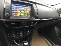 Cần bán Mazda 6, sx 2015, mầu trắng biển Hà Nội bản 2.0, giá 790tr