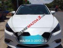 Bán Mazda 3 2.0 năm sản xuất 2017, màu trắng số tự động, giá tốt