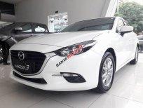 Có sẵn 01 Mazda 3 màu trắng thể thao, trả góp: Trả trước 186 triệu, giao xe tận nơi, LH 0907148849