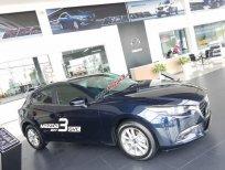 Giao xe tận nơi, Mazda 3 màu xanh đen thể thao, bảo hành chính hãng 5 năm, trả trước 186 tr LH 0907148849