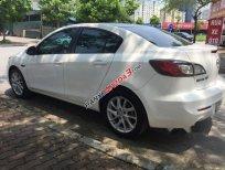 Bán xe Mazda 3S trắng đời 2014, số tự động, tên tư nhân một chủ từ đầu đăng ký 2014