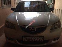 Cần bán Mazda 3 1.6 AT đời 2004, màu bạc, 270tr