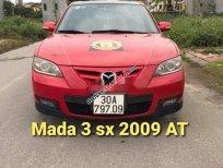 Bán xe Mazda 3 đời 2009, màu đỏ, nhập khẩu