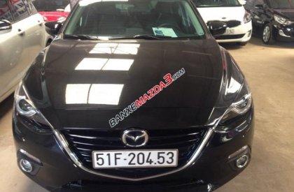 Bán Mazda 3 2.0 đời 2015, màu đen