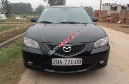 Cần bán xe Mazda 3 đời 2005, màu đen số tự động