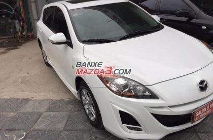 Bán xe Mazda 3 sản xuất 2010, màu trắng, nhập khẩu, số tự động