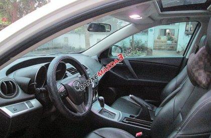 Bán Mazda 3 1.6 AT đời 2010, màu trắng, nhập khẩu chính hãng số tự động