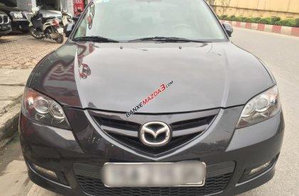 Cần bán xe Mazda 3 đời 2009, màu xám chì, nhập khẩu