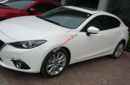 Bán ô tô Mazda 3 2.0 AT đời 2016, màu trắng, 829tr