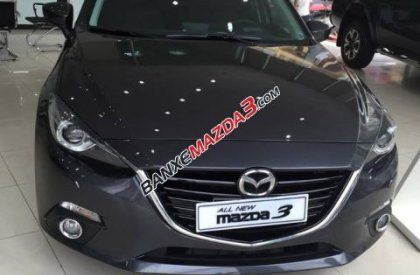 Cần bán Mazda 3 2.0 đời 2016, màu xám, giá chỉ 849 triệu