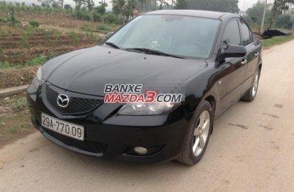 Bán xe Mazda 3 1.6AT 2005, màu đen, số tự động