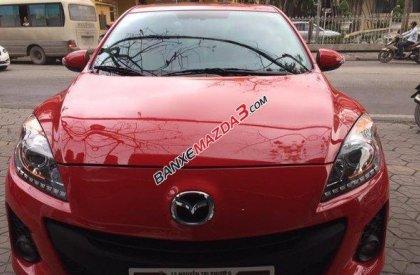 Bán ô tô Mazda 3 1.6 đời 2014, màu đỏ chính chủ, giá 660tr