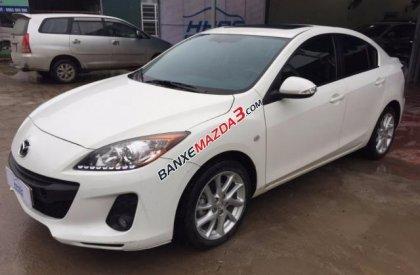 Cần bán xe Mazda 3 S 1.6AT đời 2014, màu trắng chính chủ