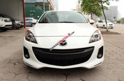 Bán Mazda 3 1.6AT sx 2012, màu trắng