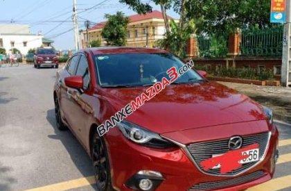 Bán Mazda 3 2.0 sản xuất 2016, màu đỏ, xe như mới