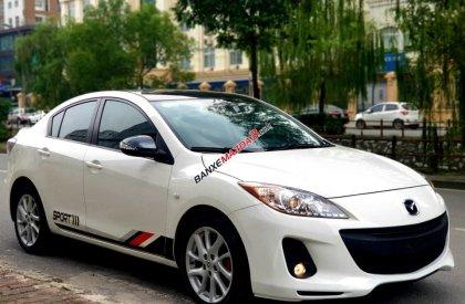 Mazda 3S trắng 2014 - giá cạnh tranh - chất lượng miễn bàn