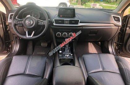 Bán ô tô Mazda 3 Facelift 12/2017, màu nâu hổ phách, biển tỉnh