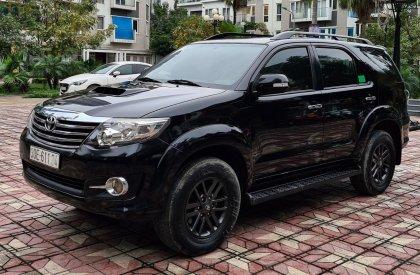 Bán xe Toyota Fortuner máy dầu đời 2016, màu đen, giá chỉ 765 triệu