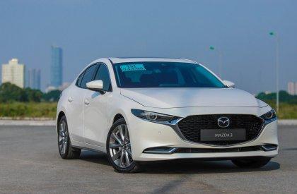 Bán Mazda 3 1.5 2020, màu trắng, 669tr tại Mazda Phố Nối, Hưng Yên